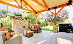 $8,700 for Custom Outdoor Living Space