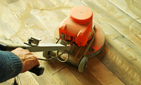 $375 for Hardwood Deep Cleaning and Re-Coating