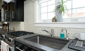 $1,200 for a New Ceramic Tile Backsplash,...