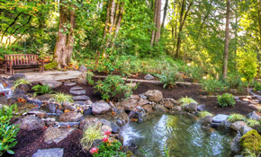 $2,000 for Small Fountain or Waterfall Installation