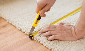 $2,100 for 450 Square Feet of Carpet Installation