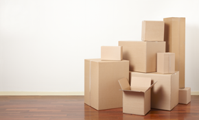 $50 for $100 Credit Toward Moving Boxes