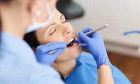 $59 for a Comprehensive Dental Exam, Cleaning,...