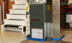 $2,350 for a New Gas Furnace Installed