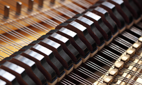 $725 Grand Piano Key Balancing with Tuning