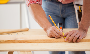 $599 for 8 Hours of Master Carpentry Work
