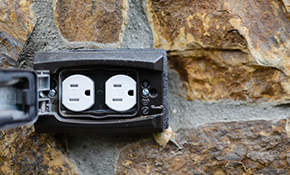 $89 for an Outdoor Electrical Outlet Installed