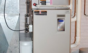 $2,495 for a New Gas Furnace Installed