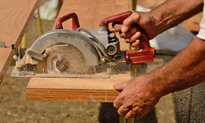 $300 Credit Toward a Carpentry-Woodworking...