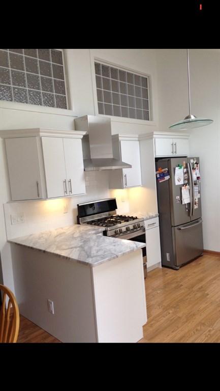 Kitchen remodel white 1