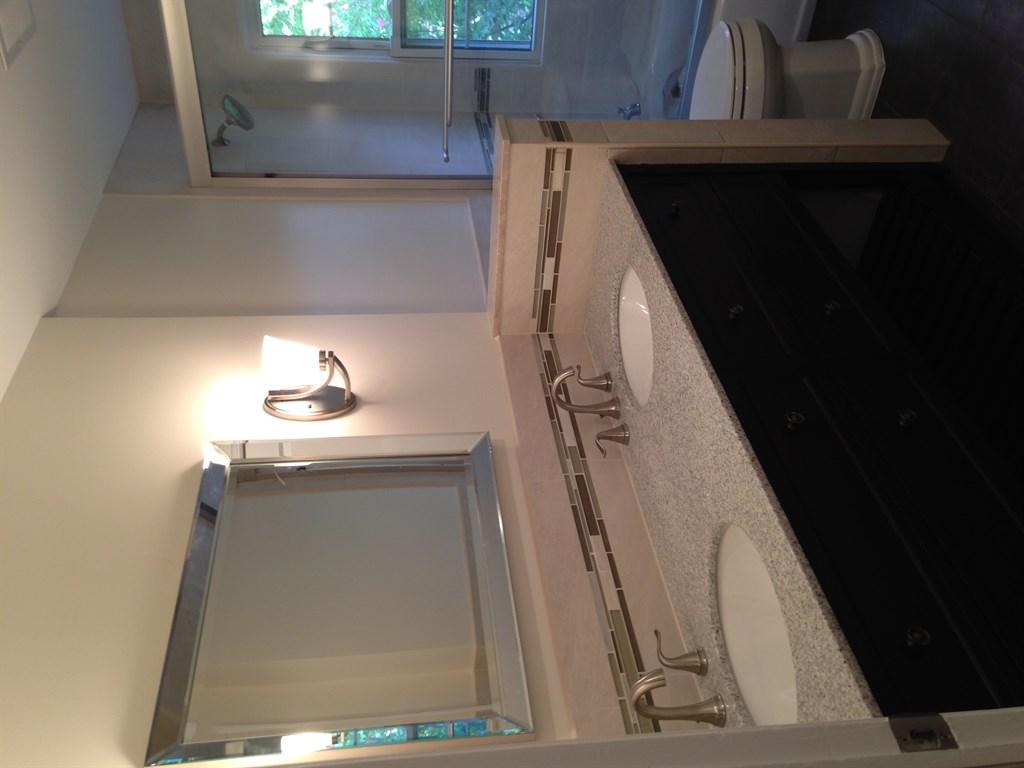 Bathroom remodel beige 2