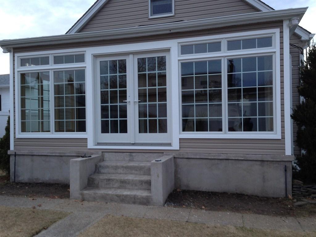 Siding exterior with azek trim and windows 1