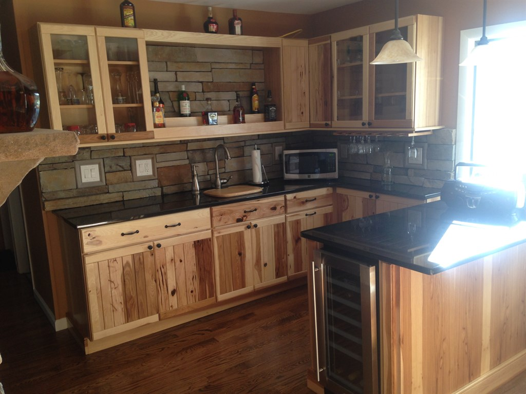 Stone kitchen remodel 1