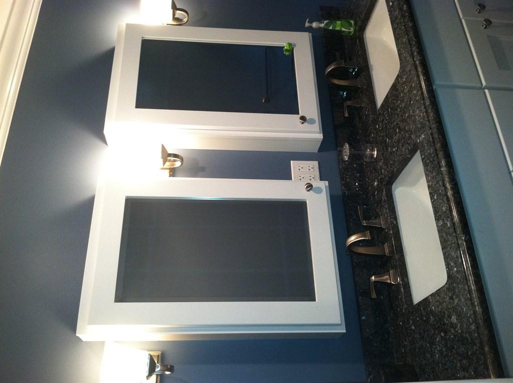 Bathroom remodel gray 2