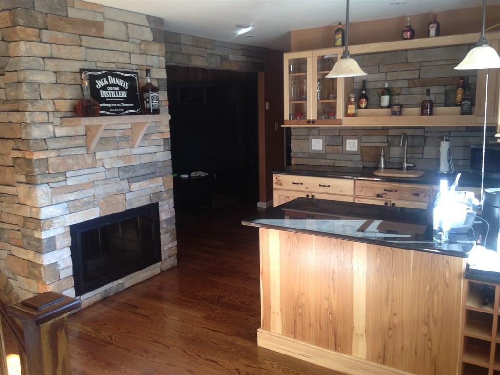 Stone kitchen remodel 2