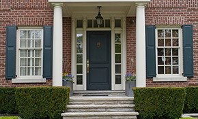 $575 for a Front Door Re-Staining or Re-Paint...