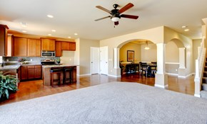 $89 for Three Rooms of Carpet Cleaning and...