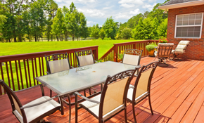 $90 for Outdoor Deck/Patio Living Space Consultation
