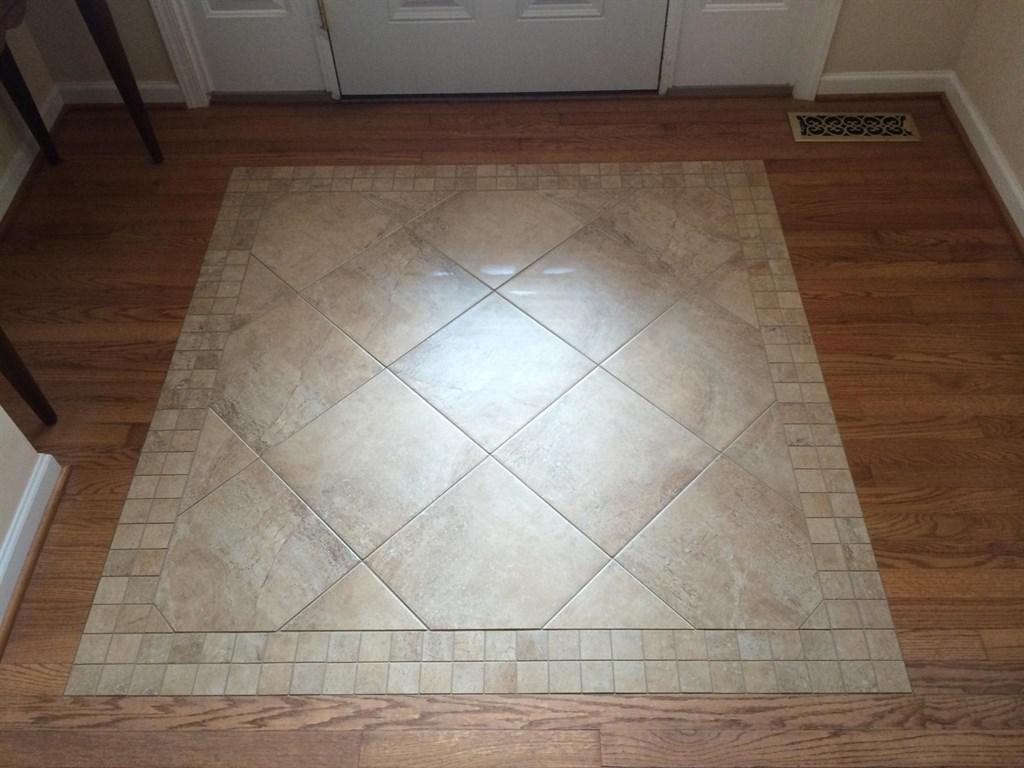 Porcelain Floor Inlays : Sheaves floors llc weyers cave va angies list