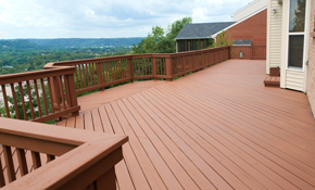 $4,096 for 16'X16' Standard Cedar Deck Installation
