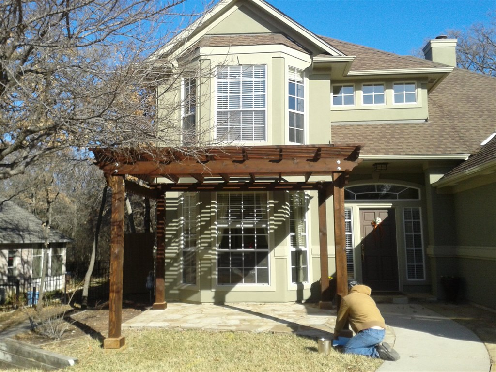 Pergola for front of house pictures