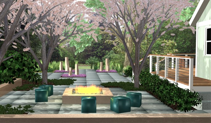 Contemporary Patio Design