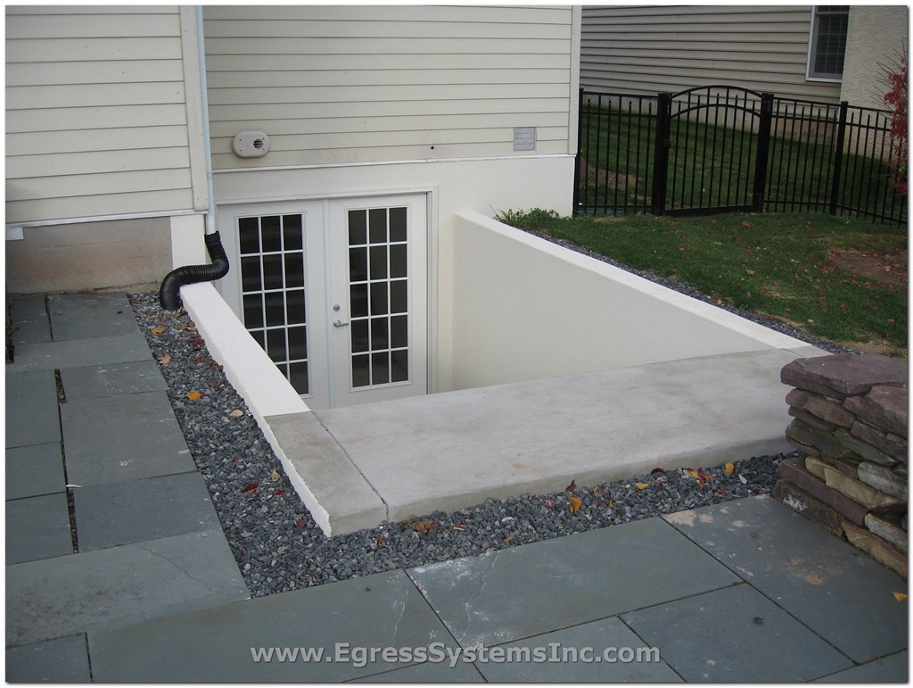 Egress systems inc spring city pa 19475 angies list for Does a walkout basement cost more