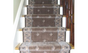 $699  for a Staircase Wool Runner Installation