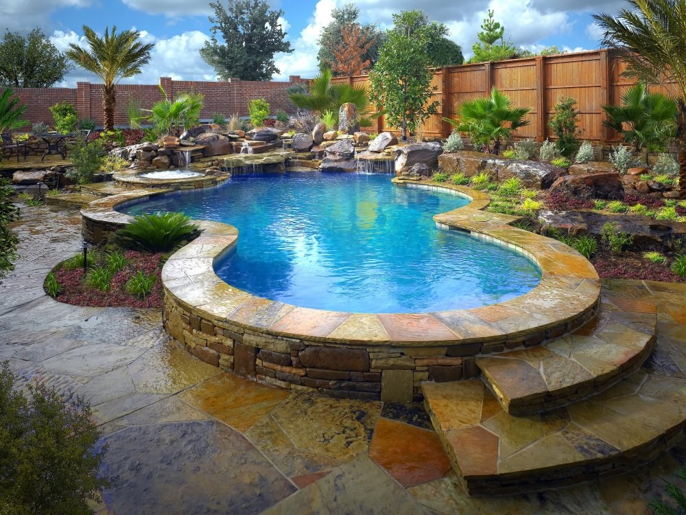 Natural Stone Pools Mckinney Tx 75069 Angies List
