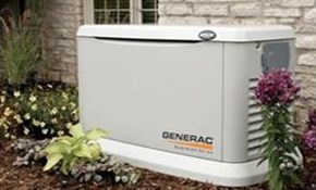 $8,300 Installation of a 22 kW Home Generator