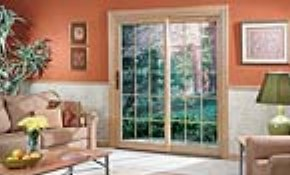 $1,490 Sliding-Glass Patio Door Installed...