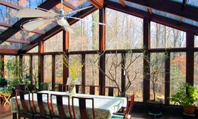 $500 for $1,500 Credit Toward Any New Sunroom...