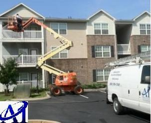 we are performing apartments pressure washing Knoxville TN