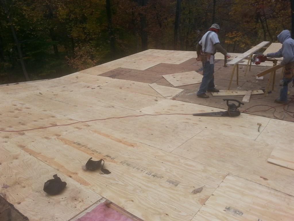 Installing New Decking