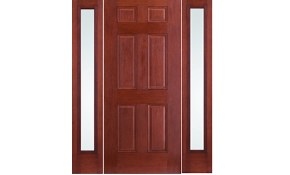$3,882 for an Oak Fiberglass Front Entry...