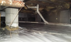 $125 for Crawl Space Vapor Barrier Installation...