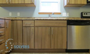 $799 for $1,200 Toward Kitchen Cabinet Refacing
