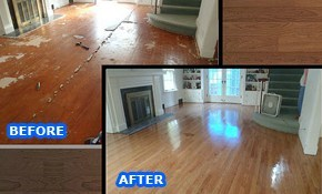 $399 for 200 Square Feet of Hardwood Floor...