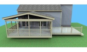$59 for your Choice of Deck, Screen Porch...