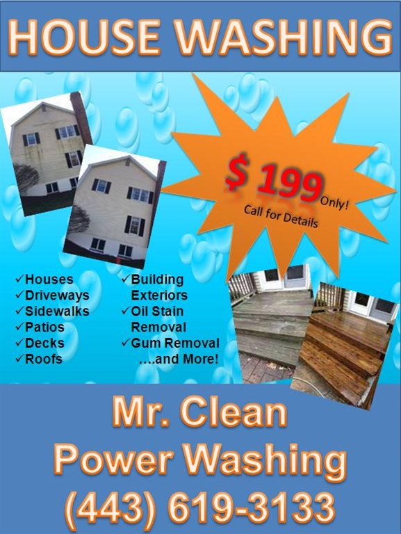 Mr Clean Power Washing Baltimore Md 21237 Angie S List