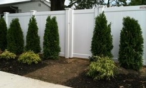 $2,340 for a Vinyl Privacy Fence (up to 50...