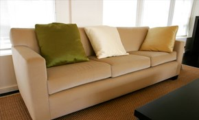 $129 for Sofa Upholstery Cleaning and Deodorizing