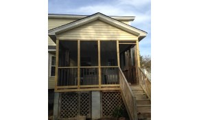 $799 Complete Re-screen Porch or Patio