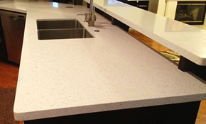 $1,399 for New Quartz Counter Tops including...