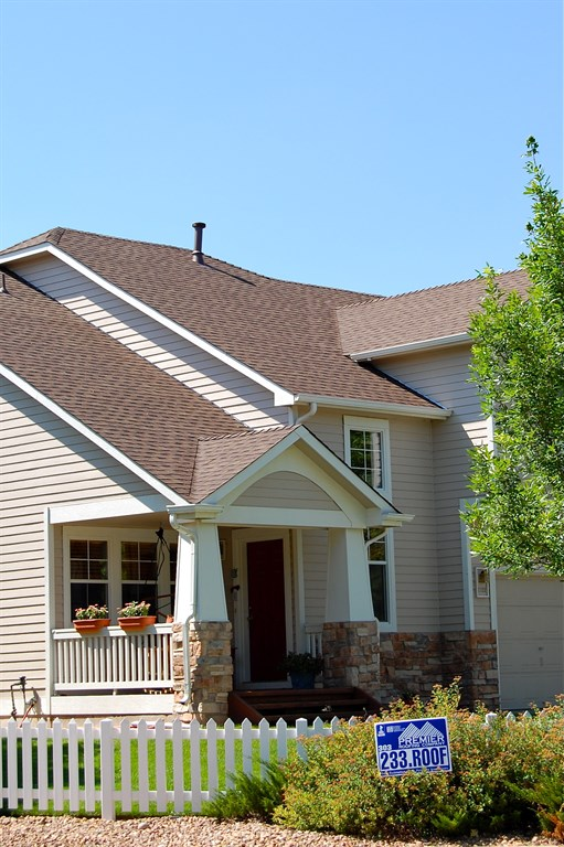 Roofing and porch