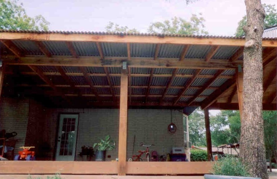 Daniel carport patio rowlett tx 75088 angie 39 s list for Redwood patio cover