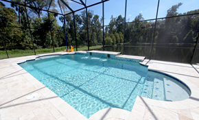 $129 for a Thorough Cleaning of a Pool Enclosure,...