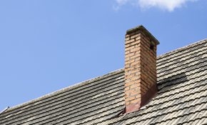 $165 for Fireplace Chimney Sweep and $100...