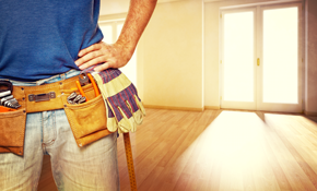$375 for 6 Hours of Home Repair or Remodeling
