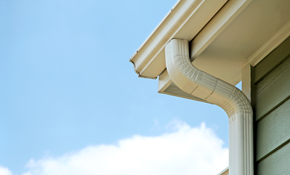 $1349 for New Seamless Gutter and Downspout...